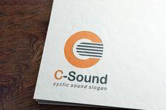C-Sound Logo Design - Brannet Market Sound Logo, Music Channel, Professional Logo Design, Slogan