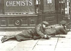 Free State Snipers in Stephens Green, Dublin 1922