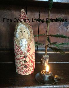 Primitive Colonial Handcrafted Belsnickel Santa