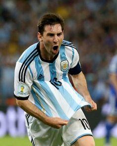 Lio Messi goal vs Boznia - FIFA WORLD CUP 2014