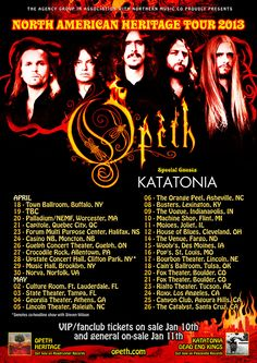 Katatonia to support Opeth on US tour  http://www.thelairoffilth.com/2013/01/filthy-music-news-katatonia-to-join.html