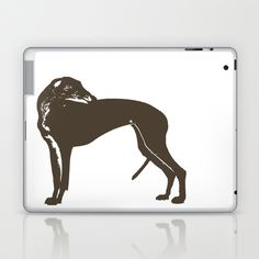 Greyhound Dog Laptop & iPad Skin by ialbert - $25.00
