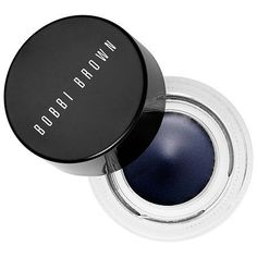 Bobbi Brown - Long-Wear Gel Eyeliner  in Black Ink #sephora  I have this in Black Ink and Espresso Ink, and it's the only thing I've ever encountered that is strong enough to handle my oily lids and hooded eyes. I'd love to get it in Grey or Navy, and maybe even the Green if I'm feeling bold. #Eyemakeup