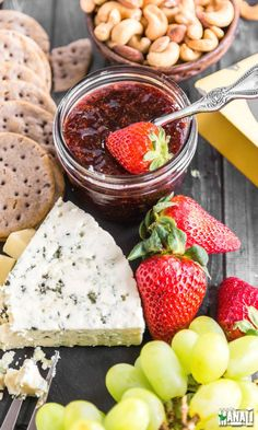 Spring Cheese Board