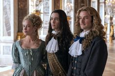 """Curl sandwich"" Liselotte, Philippe and the Chevalier Versailles Bbc, Versailles Tv Series, Louis Xiv, Rococo, Evan Williams, Now And Forever, Music Tv, Period Dramas, Marie Antoinette"