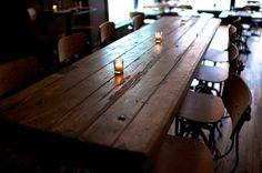 On my gastronomy wish list: The Woodsman Tavern, Portland OR. http://woodsmantavern.com/