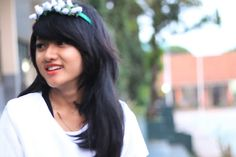 Smile and world can smile #white