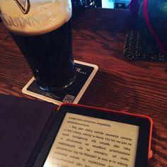 Ulisses na kindlu    #ulysses #joyce #kindle #ebook #guinness #beer