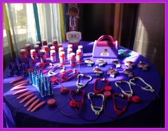 Favors At A Doc McStuffins Party Docmcstuffins Girl Birthday Happy 4th