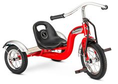 Bring a smile to your little mover's face with this safe and sturdy retro-styled trike.