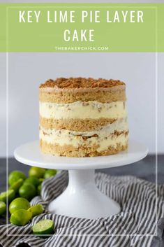 Baking up a delicious life. Momofuku Milk Bar, Momofuku Cake, Momofuku Recipes, Pavlova, Cupcakes, Cupcake Cakes, Key Lime Kuchen, Citron Cake, Milk Bar Cake