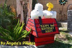 Snoopy birthday party By Angela's Piñatas   Www.facebook.com/angelaspinatas