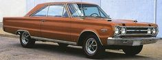 1967 Plymouth GTX Maintenance/restoration of old/vintage vehicles: the material for new cogs/casters/gears/pads could be cast polyamide which I (Cast polyamide) can produce. My contact: tatjana.alic@windowslive.com