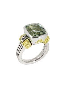 LAGOS Glacier Green Amethyst Medium Ring