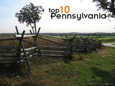 Top 10 things to do with kids in Pennsylvania, including:  -Museums -Battlefields -History -Trains -Beautiful scenery  Pin now & travel later... Staycation #travel #frugal Frugal Staycation Ideas