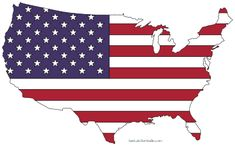 FREE printable United States US Maps. Including vector (SVG), silhouette, and coloring outlines of America with capitals and state names.