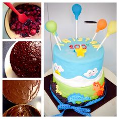 Cake for a baby's 100th day celebration!