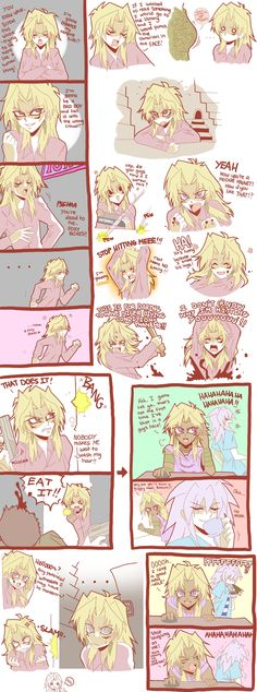 Yu-gi-oh! The Abridged Series, marik plays bloodlines,(with bakura) some of the funny parts of part 4. its epic!