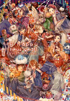 >> Generations of Pokemon Boy Trainers Pokemon Comics, Pokemon Fan Art, Cute Pokemon, Pokemon Game Characters, Pokemon Games, Black Pokemon, Original Pokemon, Pokemon Special, Character Wallpaper