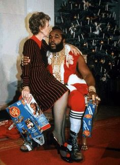 Nancy & Mr.T