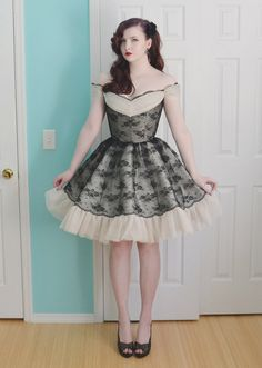 Black Lace Dress 3