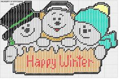HAPPY WINTER SIGN by DAISY 1/2
