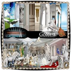 Goddess kit has several columns and other art and architectural elements