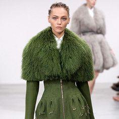 Elfin Extravagance: Azzedine Alaïa Couture Fall 2011