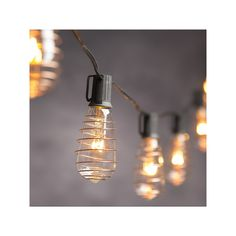 Cleveland Vintage Lighting Indoor Outdoor Copper Finish Edison Bulb String Lights