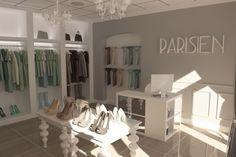 Projekt butiku w Bełchatowie   Freelancers 3D