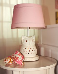 Adorable Owl Lamp From Lolli Living By Textiles Creates A Nice Glow To Your Nursery