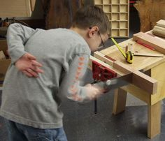 Woodworking for Kids - Fine Woodworking Article