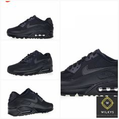 a73b7ea5164 Original New Arrival Authentic Nike Air Max 90 Essential Men s Comfortable Running  Shoes Sport Outdoor Sneakers