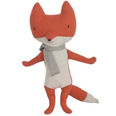 Maileg Fox with Scarf