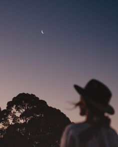 A teeny, tiny crescent moon shot from our field at home 🌙 . Shortly after editing this photo I read a few pages of my latest book and came… Summer Aesthetic, Aesthetic Photo, Aesthetic Girl, Aesthetic Pictures, Photographie Indie, Shoot The Moon, Foto Pose, Tumblr Wallpaper, Foto E Video