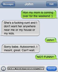 hahaa In Laws! lol