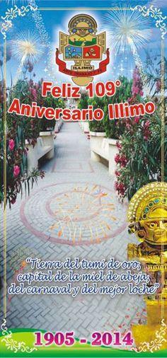 Aniversario del distrito de Illimo en Lambayeque