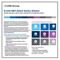May 5, 2014: E-mini S&P Select Sector Futures