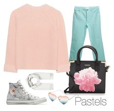 """""""Untitled #34"""" by aliyahfrds on Polyvore featuring ESCADA, Brioni, Calvin Klein, iHeart, Converse, pastels, PolyvoreIndonesia and polyvoreasian"""