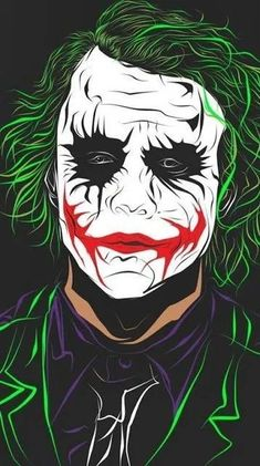Art Joker Batman The Dark Knight DC Movie Wall Fabric Cloth Poster 719