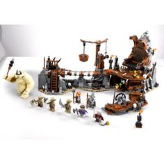 The Hobbit: An Unexpected Journey The Goblin King Battle LEGO set