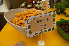 Dino Party...Triceratop Horns (Bugles)