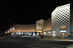 宁波和义大道购物中心——LDPi英国莱亭迪赛灯光设计公司