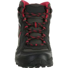 7a9f75431f Dámská polovysoká obuv Arpenaz 50 na turistiku černo-růžová QUECHUA