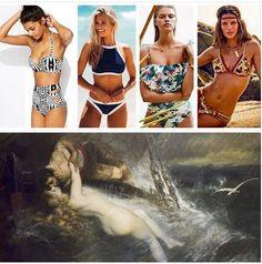 Art Blog, Bikinis, Swimwear, Beachwear, Take That, Articles, Artist, Fashion Trends, Painting