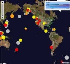 New Madrid Seismic Zone Earthquake Swarm: Responding to the West Coast Earthquake Swarm, which is responding to the Pacific Ring of Fire Earthquake Swarm, which is responding to the Antipodal Earthquake generator at South Sandwich Islands of 6.2M. Basically, one decent size earthquake will reverberate around the world causing dozens if not hundreds more.