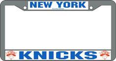 New York Knicks Chrome License Plate Frame