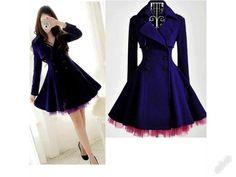 ct01i ženy elegantní podzimní kabáty S-XL M