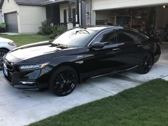 2019 Accord Hybrid - Real Time - Diet, Exercise, Fitness, Finance You for Healthy articles ideas Honda Accord Sport, Black Honda Accord, Honda Accord Custom, Honda Accord Touring, 2018 Honda Accord, My Dream Car, Dream Cars, Best Cars For Teens, Bling Car Accessories