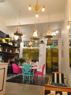 Singapore's best-kept sugar spot: Mad About Sucre!  Beautifully curated cakes & ganaches with tea pairings.  Cakes for special events, too